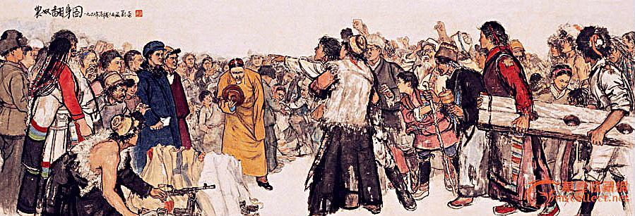 【晓鸣话题】时代应当尊重真实的历史画_图1-2
