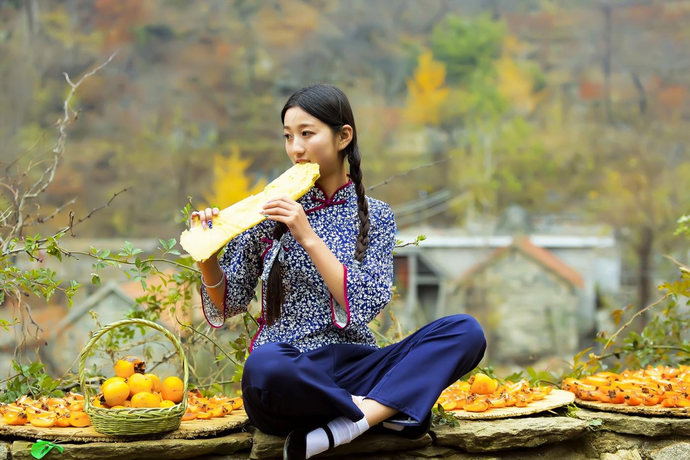 """蒙山人家走来一位可爱的""""煎饼mm"""" 地道的临沂大嫚范_图1-8"""