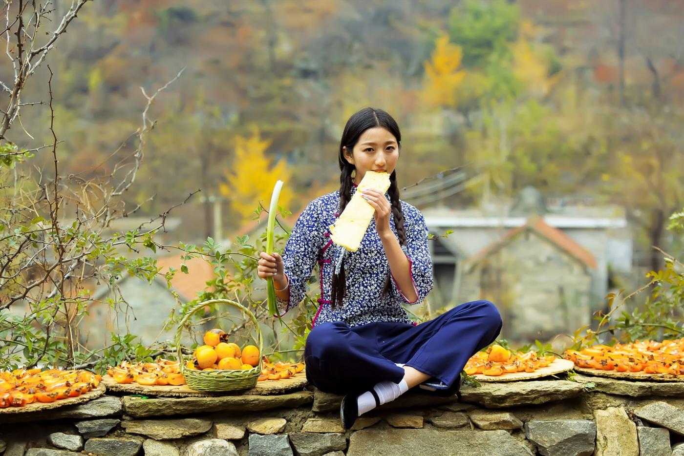 """蒙山人家走来一位可爱的""""煎饼mm"""" 地道的临沂大嫚范_图1-9"""