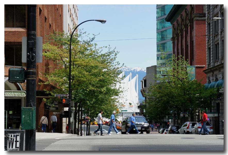 《原创摄影》:温哥华一瞥 - 阿拉斯加行序二_图1-2