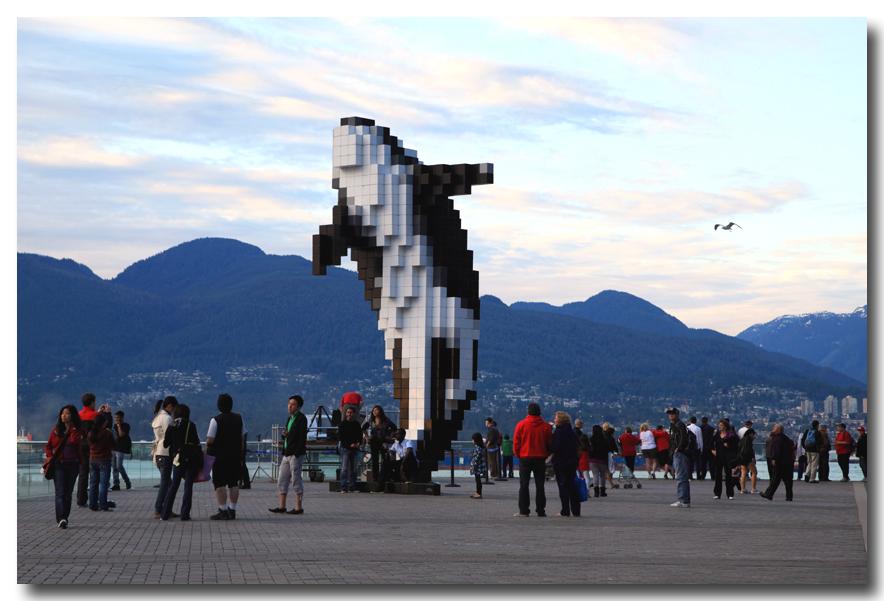 《原创摄影》:温哥华一瞥 - 阿拉斯加行序二_图1-11