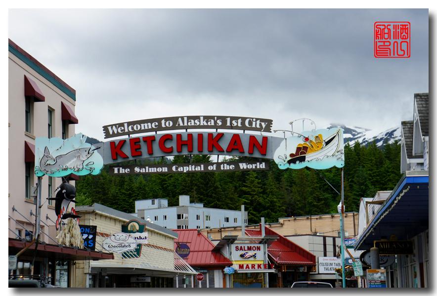《原创摄影》:走马观花凯奇坎(Ketchikan) - 梦中的阿拉斯加之二 ... ... ... ..._图1-12