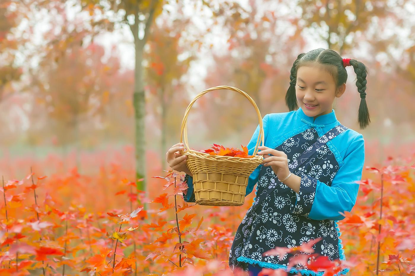 沂蒙山区竟然有这么一片童话般的树林 沂蒙小精灵火红的童年来袭 ..._图1-9