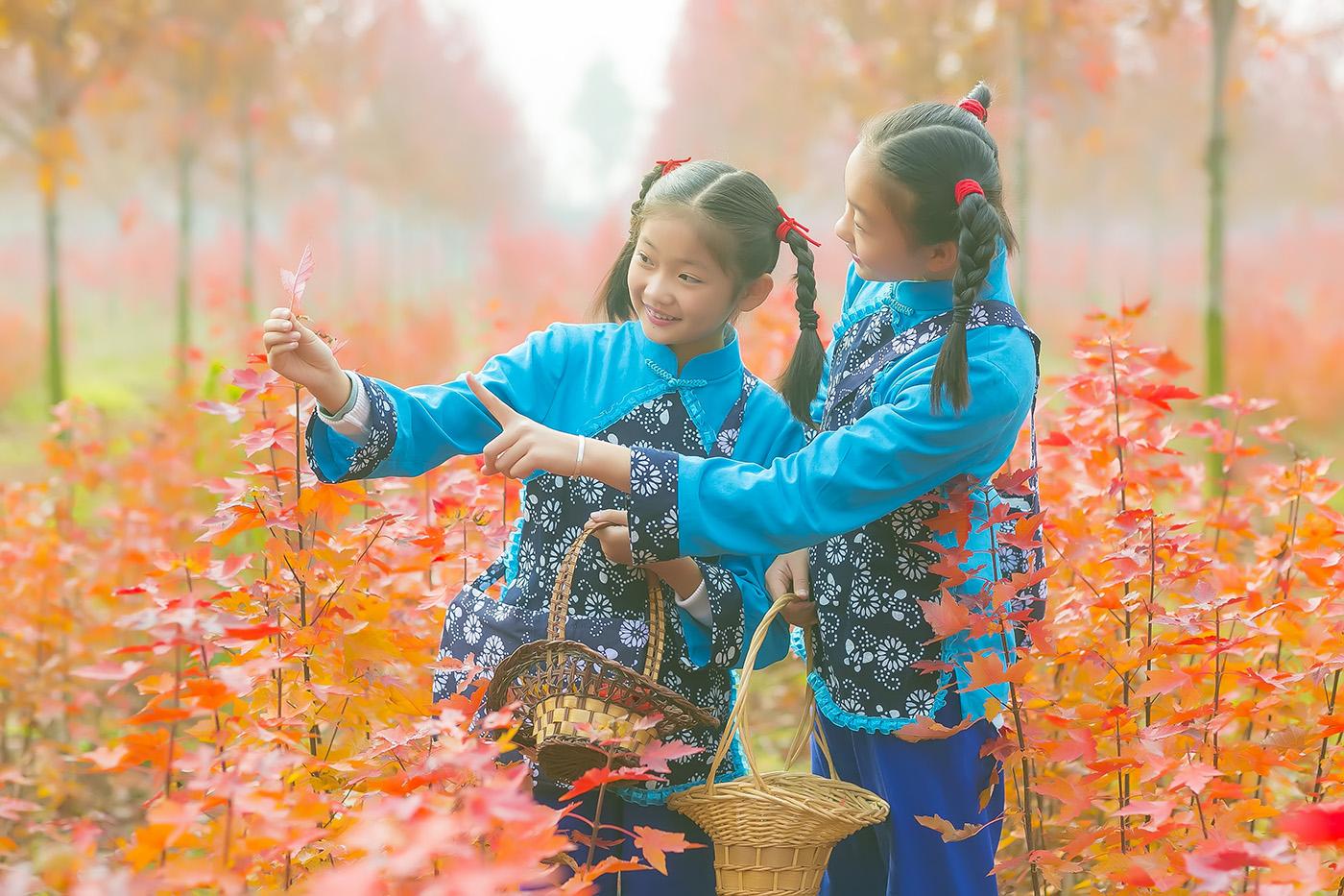 沂蒙山区竟然有这么一片童话般的树林 沂蒙小精灵火红的童年来袭 ..._图1-8