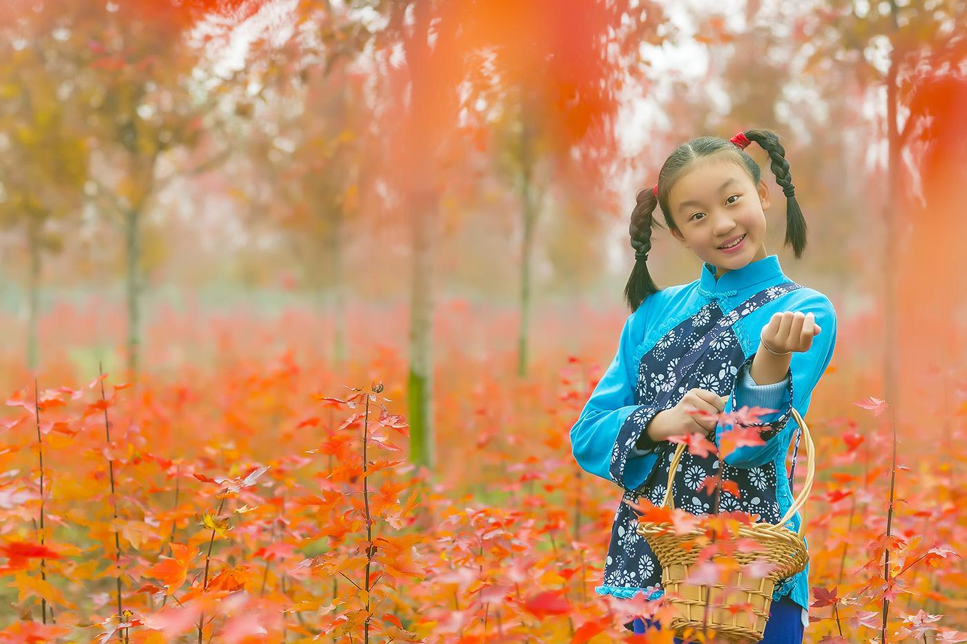 沂蒙山区竟然有这么一片童话般的树林 沂蒙小精灵火红的童年来袭 ..._图1-14