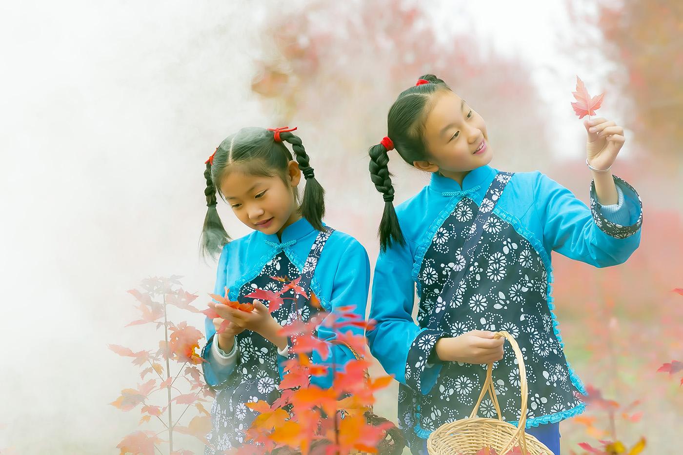 沂蒙山区竟然有这么一片童话般的树林 沂蒙小精灵火红的童年来袭 ..._图1-17