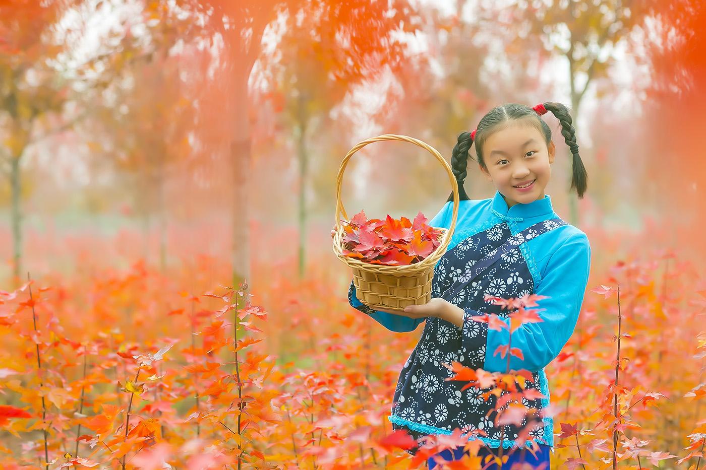 沂蒙山区竟然有这么一片童话般的树林 沂蒙小精灵火红的童年来袭 ..._图1-18