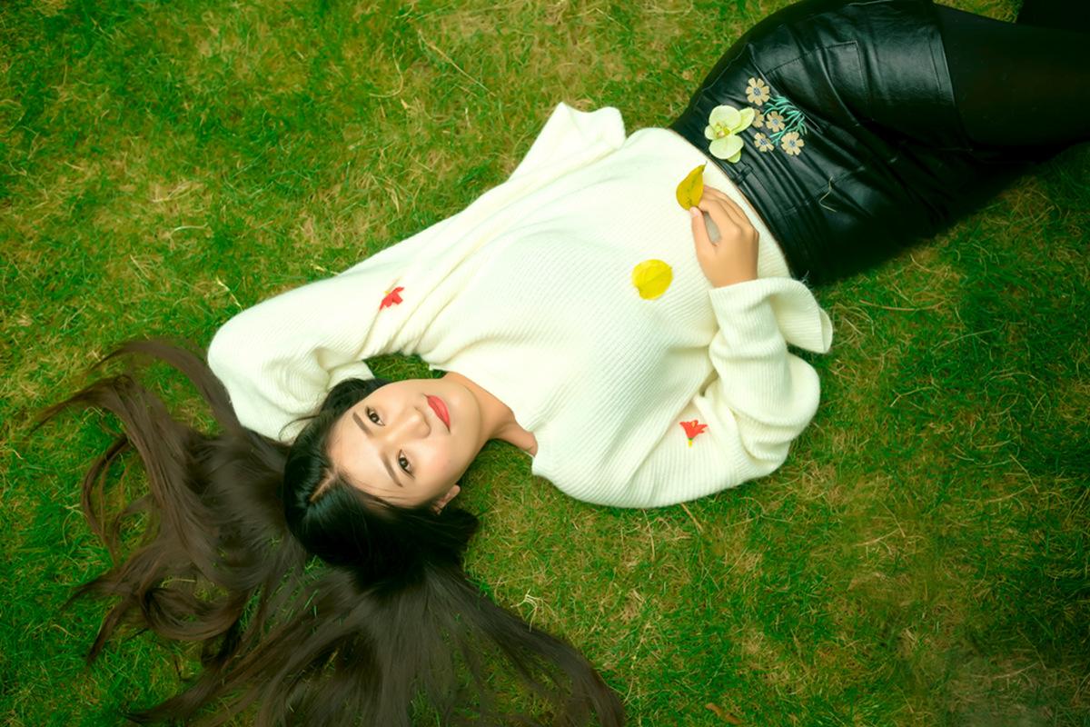 她从画中来 临沂女孩荆栎在寒冬里体验不一样的摄影经历_图1-1
