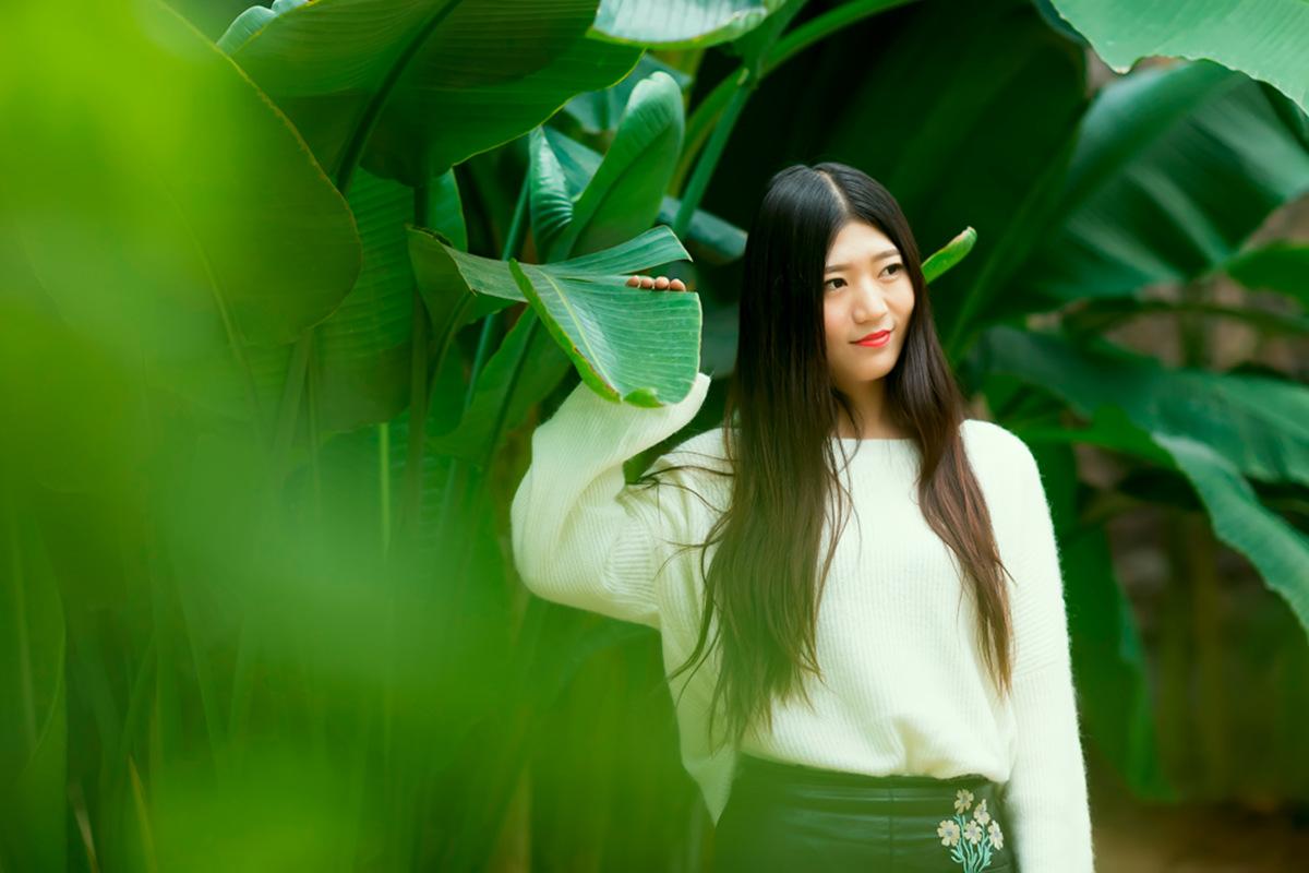 她从画中来 临沂女孩荆栎在寒冬里体验不一样的摄影经历_图1-4