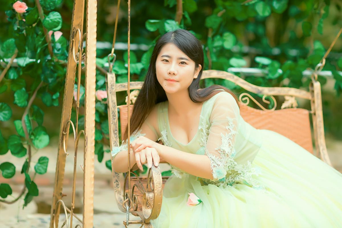 她从画中来第二季 临沂瑜伽女孩孟萍萍_图1-5