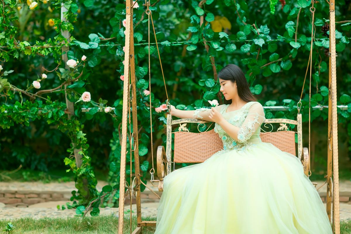 她从画中来第二季 临沂瑜伽女孩孟萍萍_图1-12