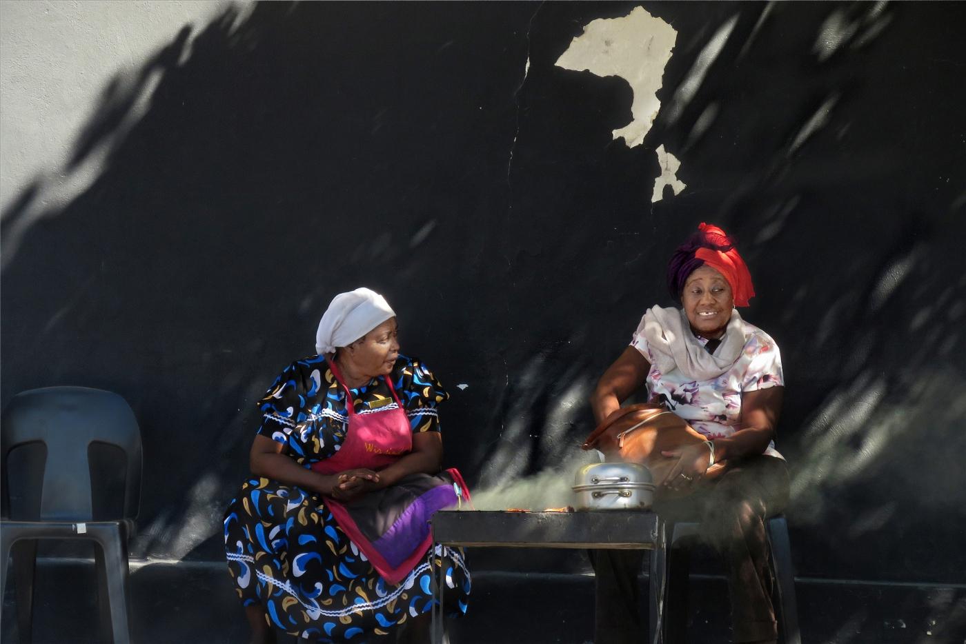 【原创实拍】黑色脸谱  ——行摄南部非洲(人像篇)_图1-4