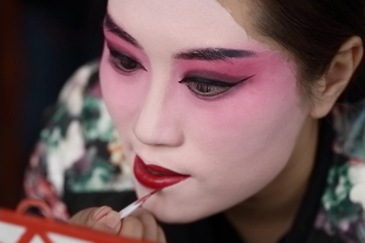 山东柳子戏剧团在寒风中为河东区人民送上一台文化大餐_图1-7
