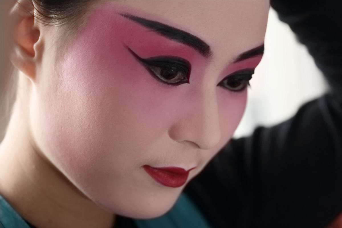 山东柳子戏剧团在寒风中为河东区人民送上一台文化大餐_图1-10