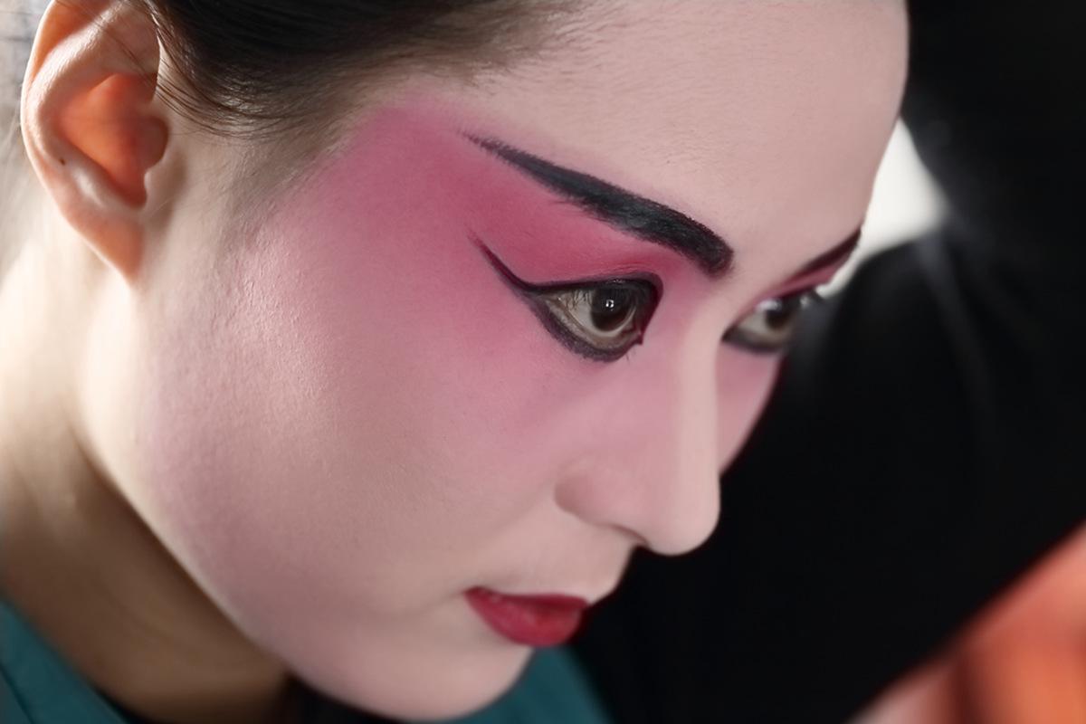 山东柳子戏剧团在寒风中为河东区人民送上一台文化大餐_图1-11