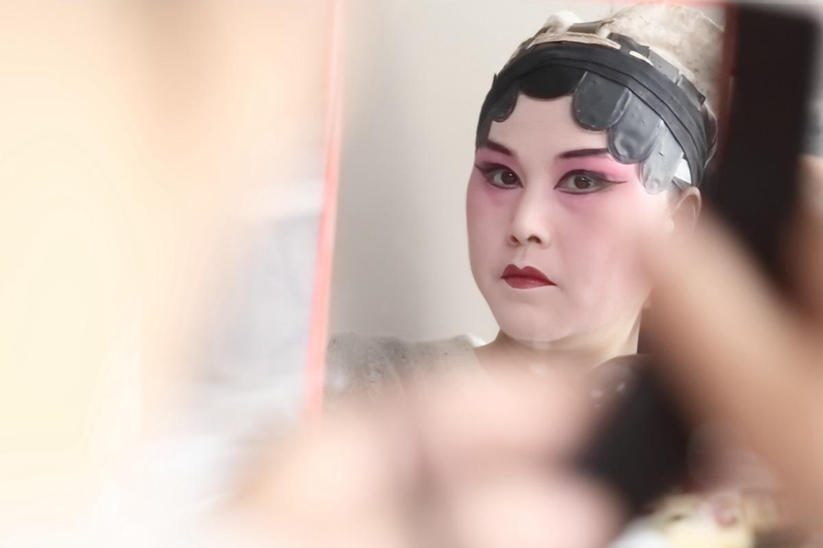 山东柳子戏剧团在寒风中为河东区人民送上一台文化大餐_图1-15
