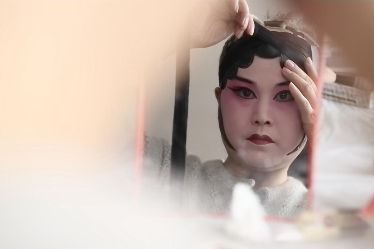 山东柳子戏剧团在寒风中为河东区人民送上一台文化大餐_图1-16