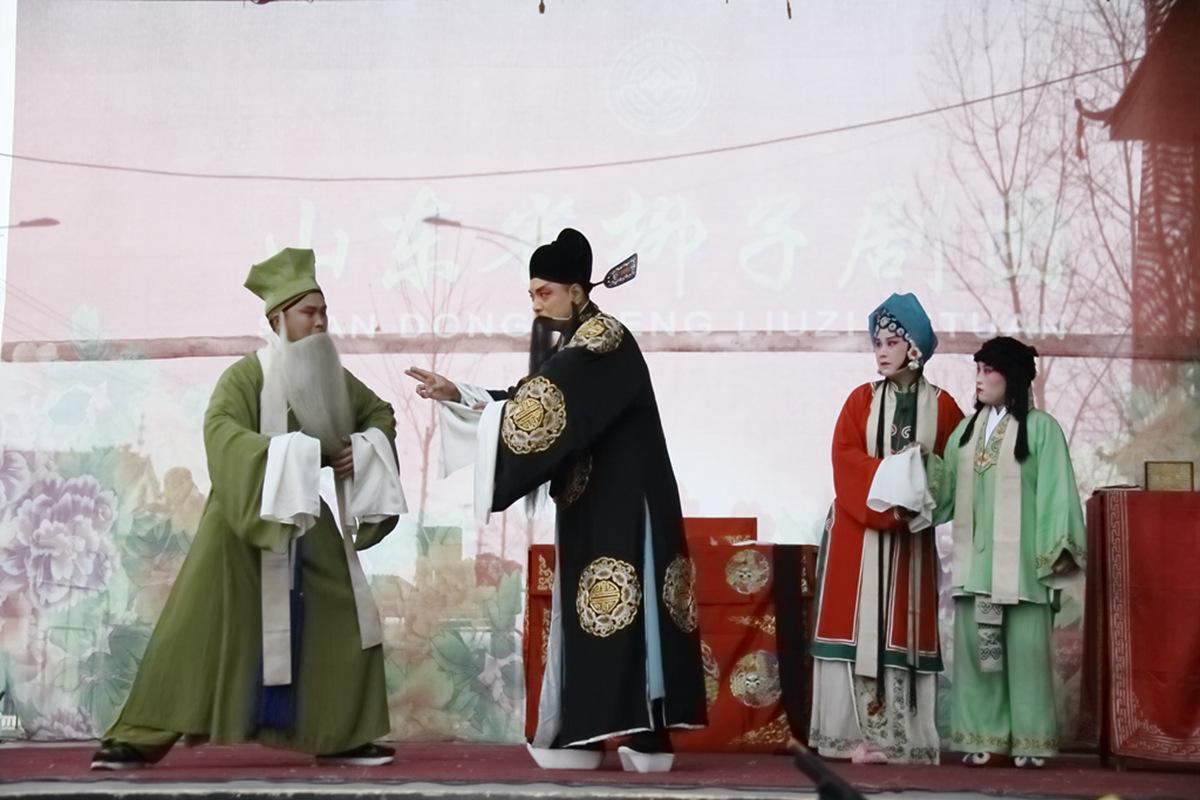 山东柳子戏剧团在寒风中为河东区人民送上一台文化大餐_图1-52