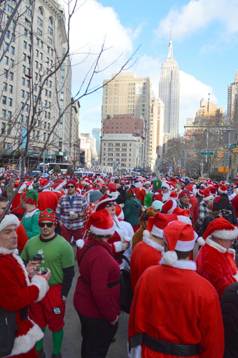 纽约客喜迎圣诞(二):圣诞老人节_图1-1