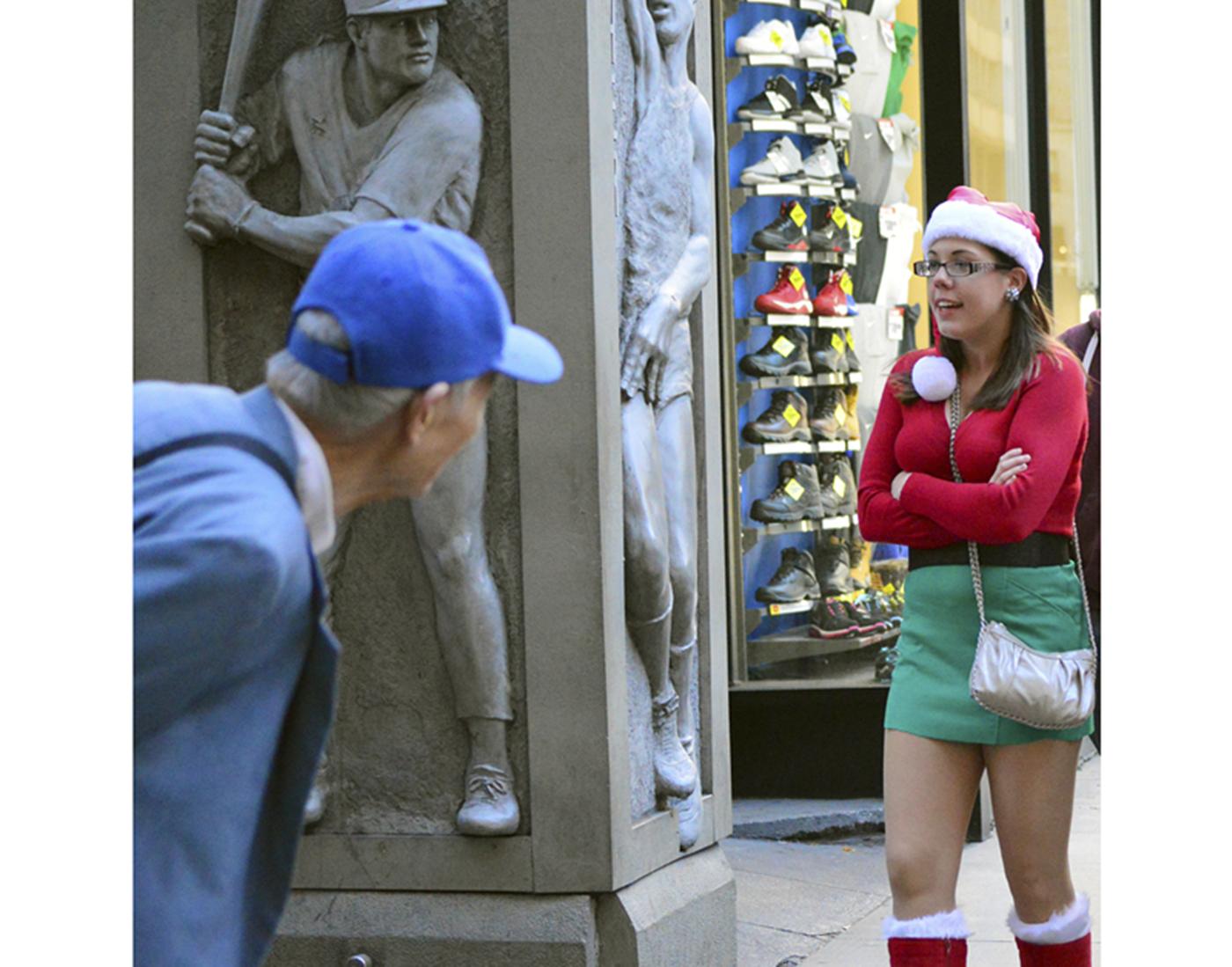纽约客喜迎圣诞(二):圣诞老人节_图1-2