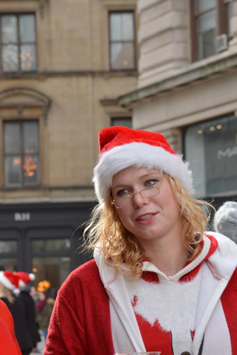 纽约客喜迎圣诞(二):圣诞老人节_图1-4