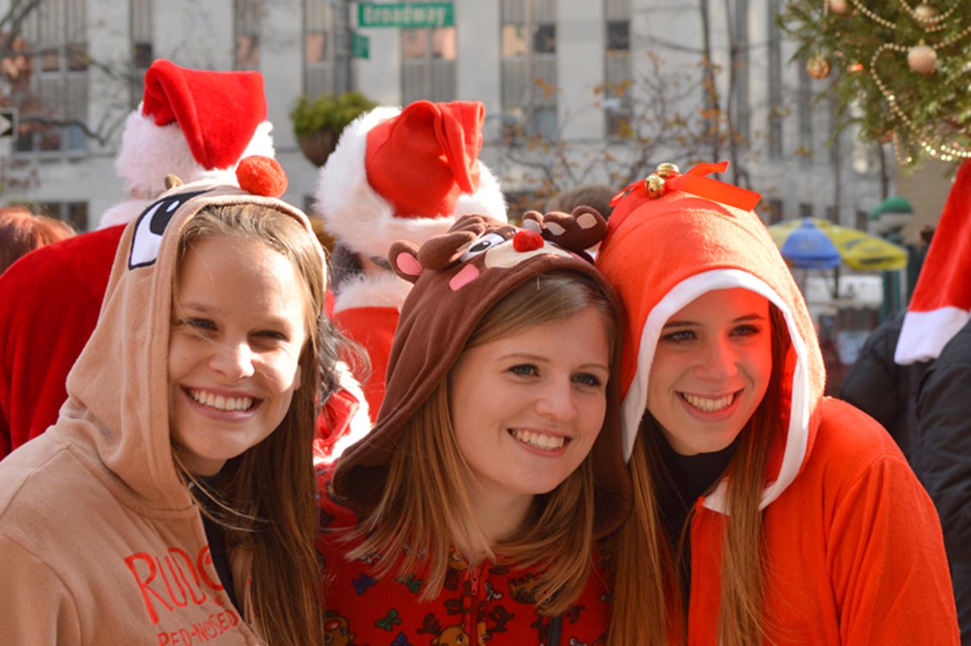纽约客喜迎圣诞(二):圣诞老人节_图1-7