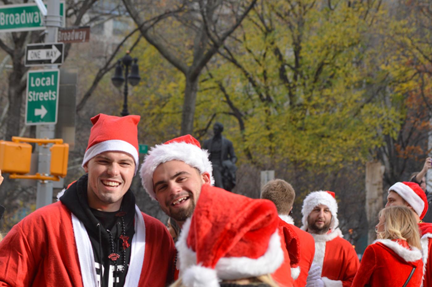 纽约客喜迎圣诞(二):圣诞老人节_图1-8
