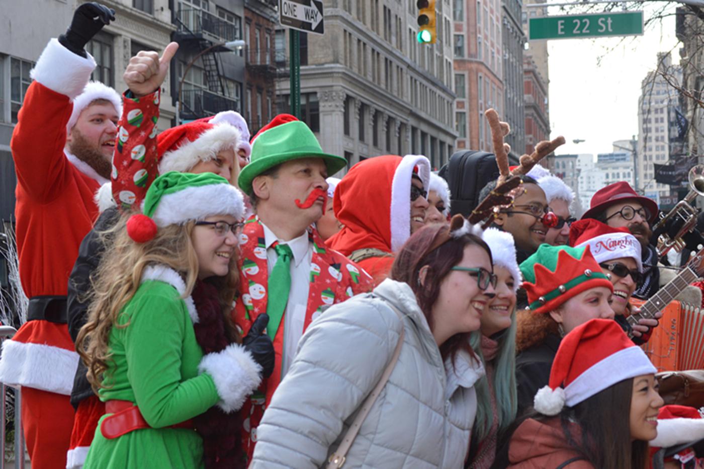 纽约客喜迎圣诞(二):圣诞老人节_图1-11