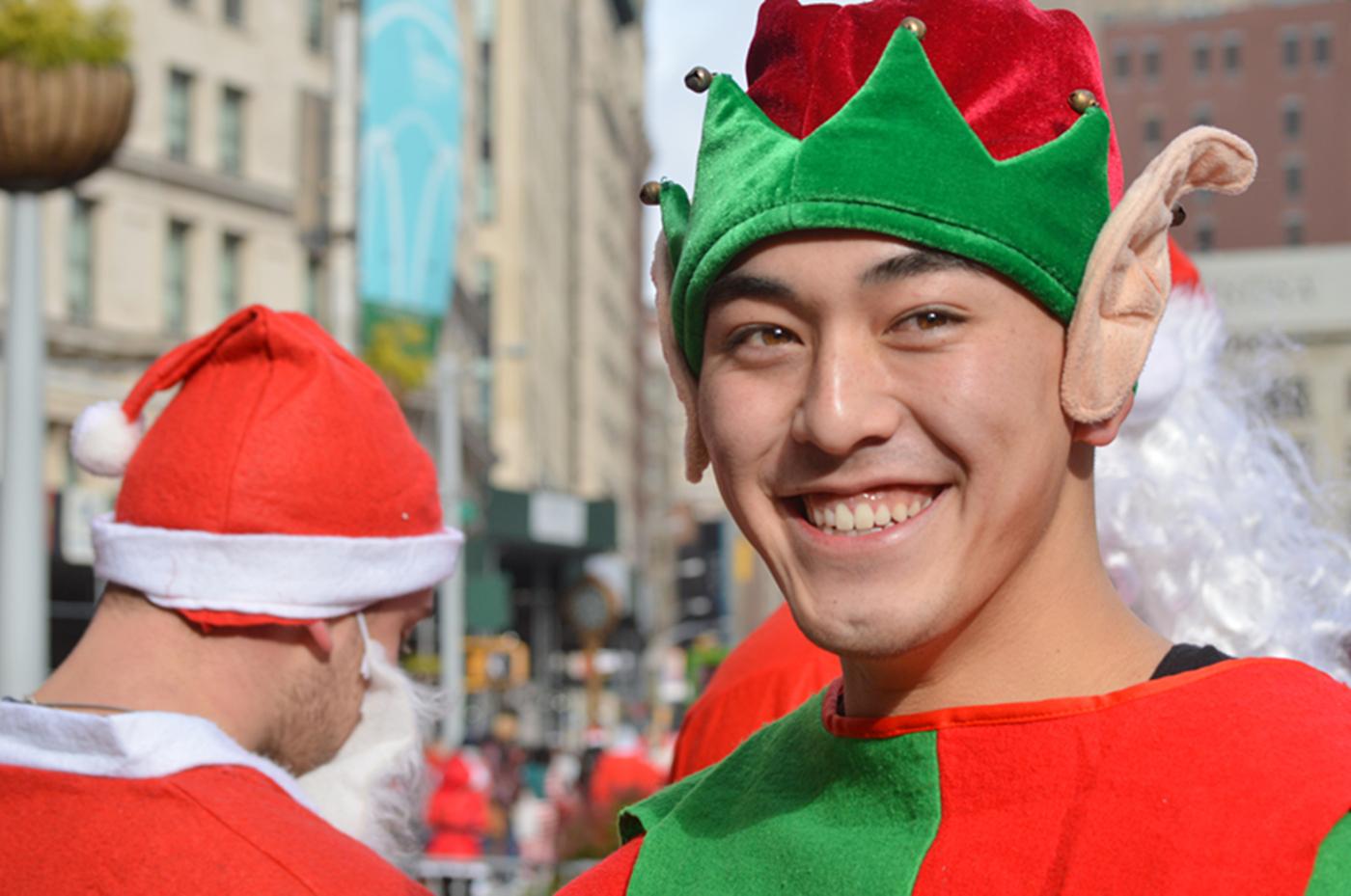 纽约客喜迎圣诞(二):圣诞老人节_图1-13