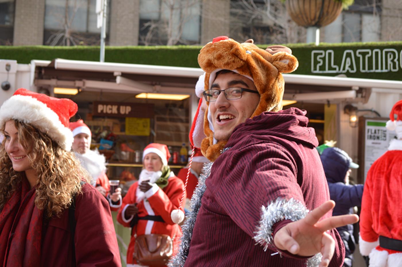 纽约客喜迎圣诞(二):圣诞老人节_图1-14