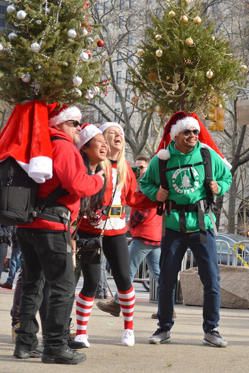 纽约客喜迎圣诞(二):圣诞老人节_图1-16