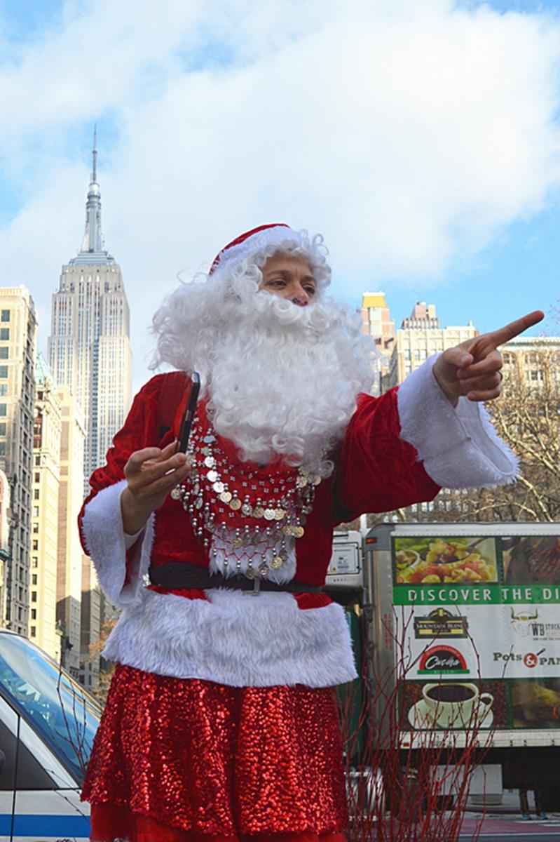 纽约客喜迎圣诞(二):圣诞老人节_图1-17