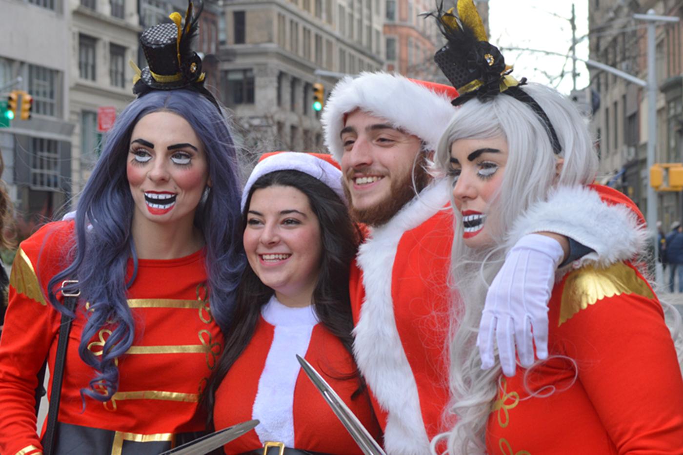 纽约客喜迎圣诞(二):圣诞老人节_图1-18