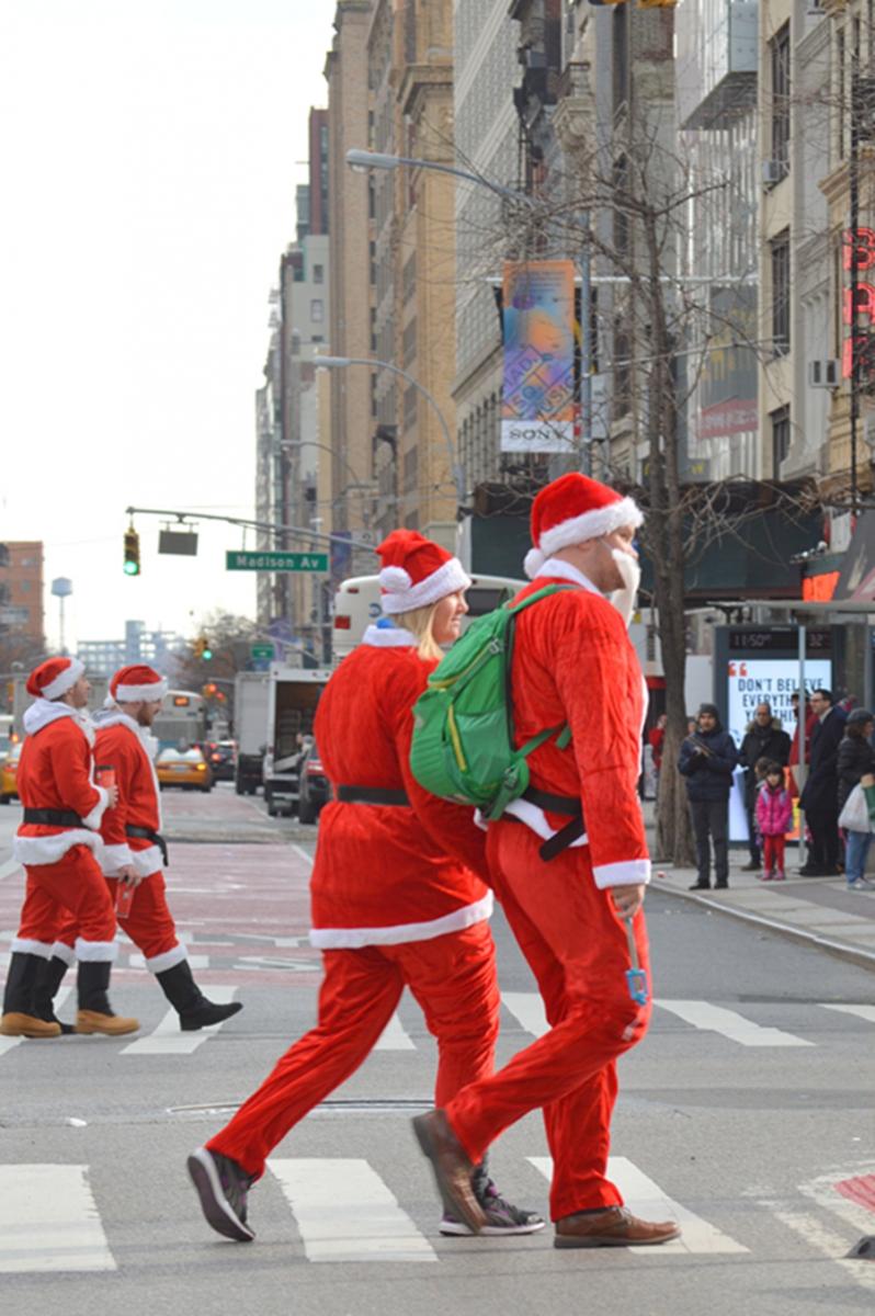 纽约客喜迎圣诞(二):圣诞老人节_图1-20