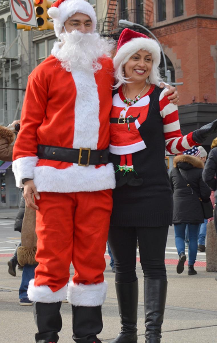 纽约客喜迎圣诞(二):圣诞老人节_图1-21