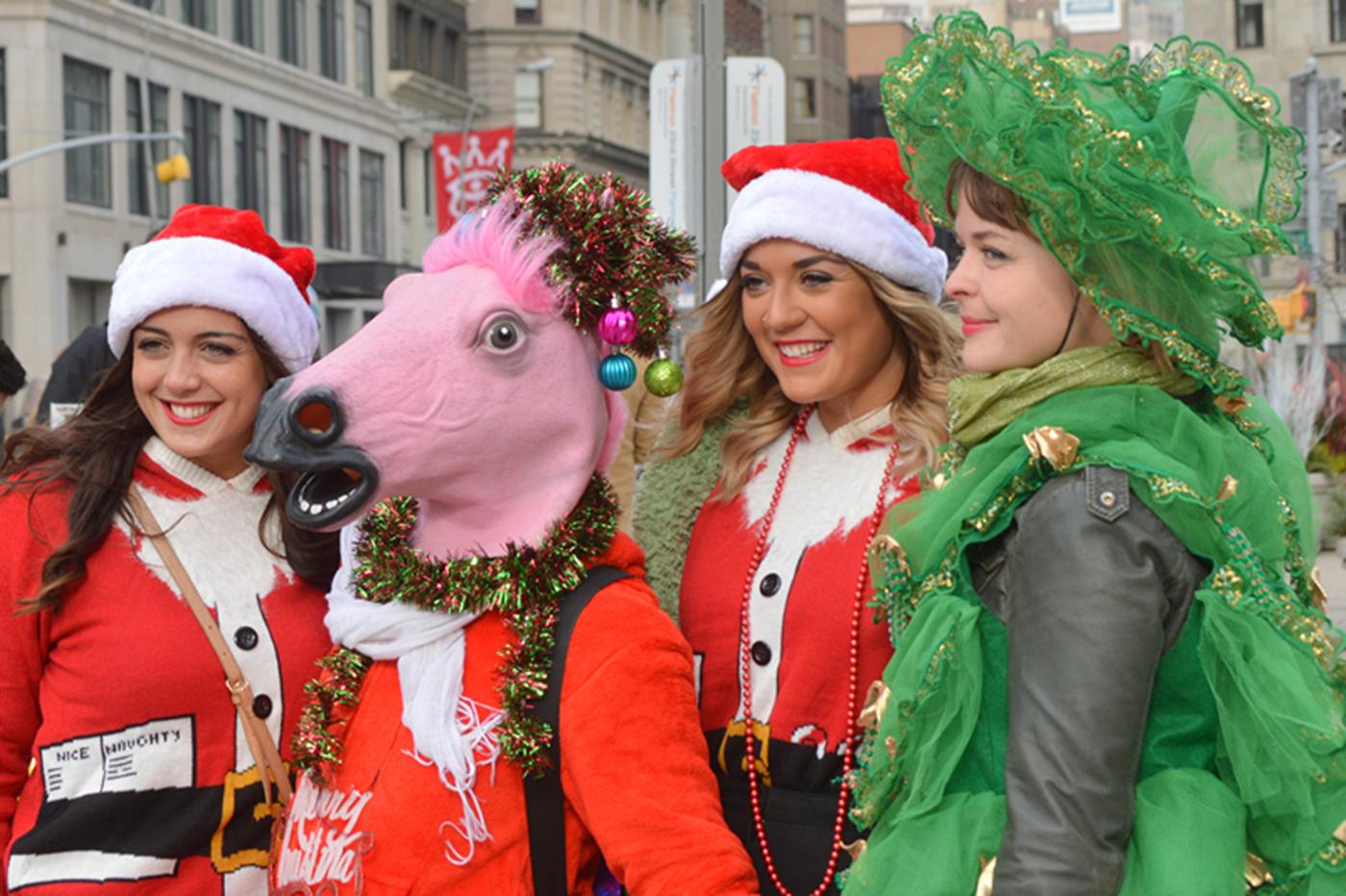 纽约客喜迎圣诞(二):圣诞老人节_图1-22