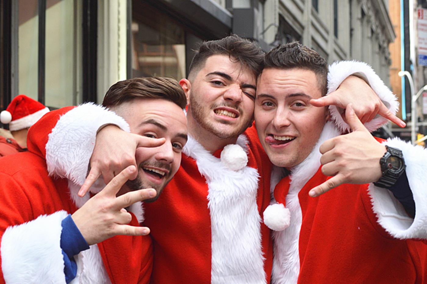 纽约客喜迎圣诞(二):圣诞老人节_图1-24