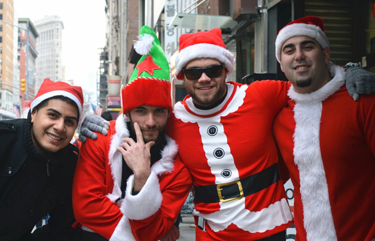 纽约客喜迎圣诞(二):圣诞老人节_图1-26