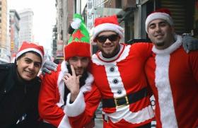 纽约客喜迎圣诞(二):圣诞老人节