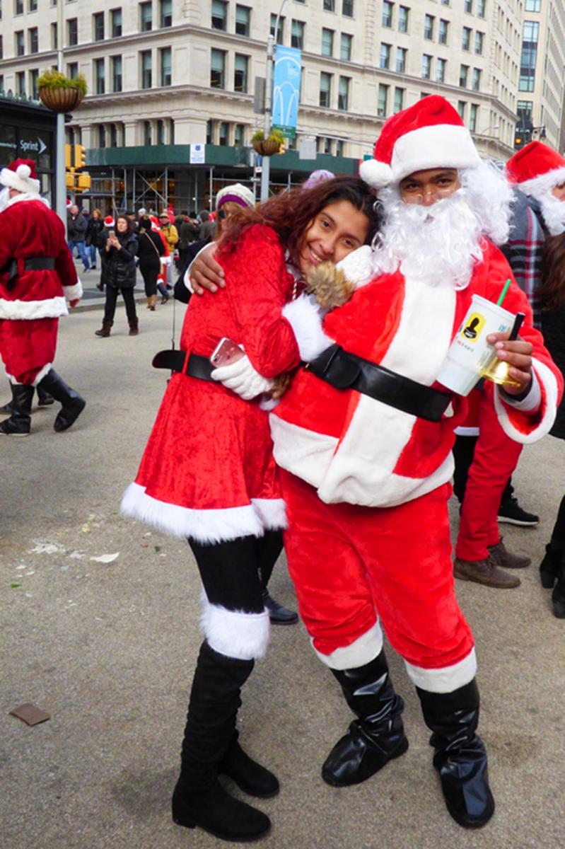 纽约客喜迎圣诞(二):圣诞老人节_图1-27