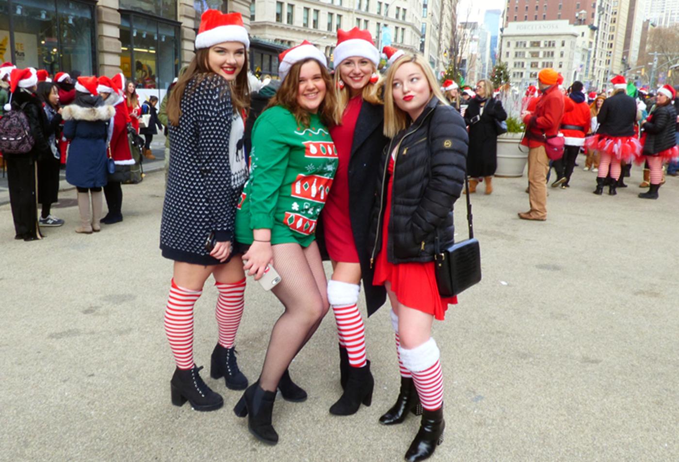 纽约客喜迎圣诞(二):圣诞老人节_图1-28