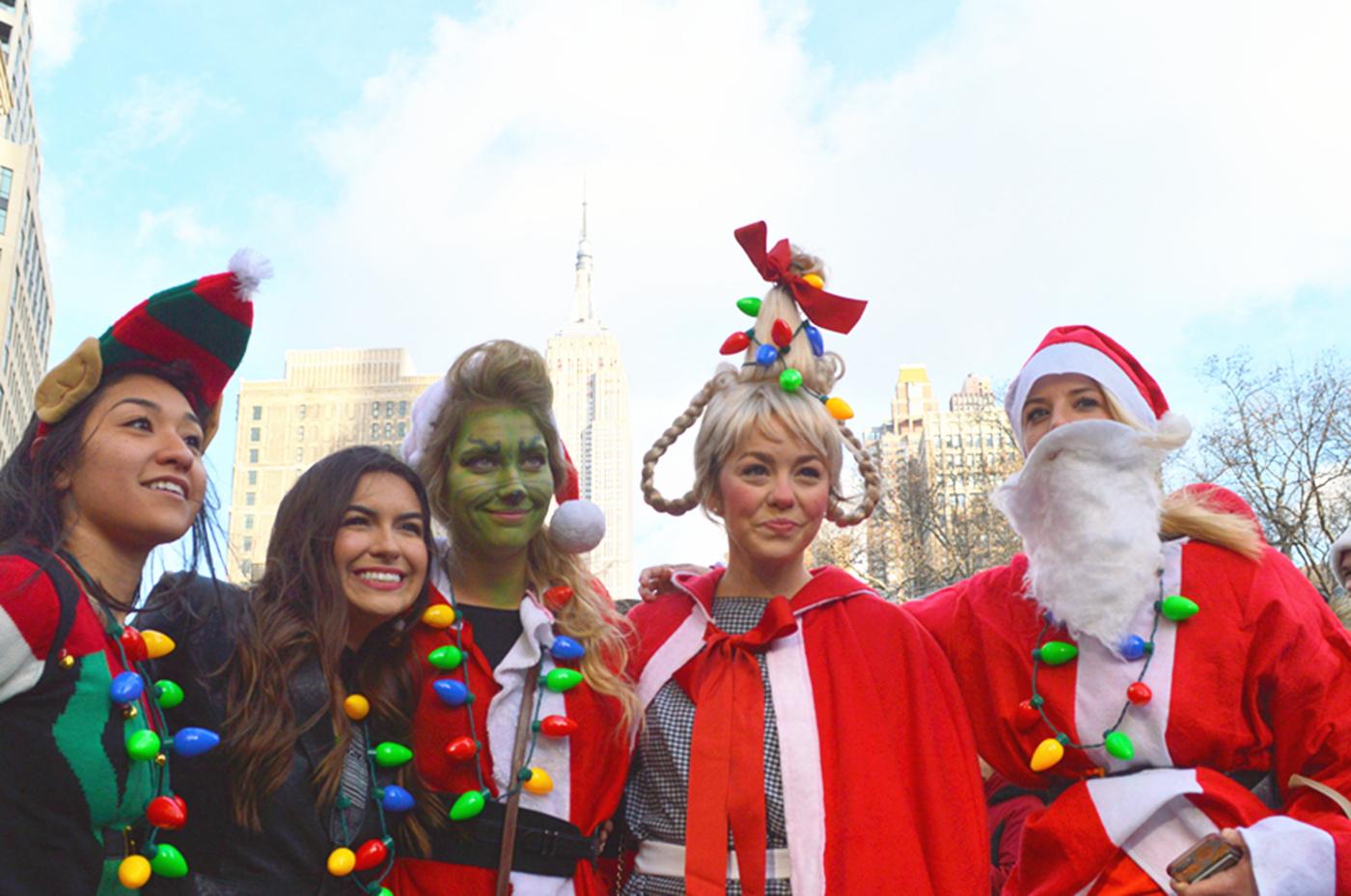 纽约客喜迎圣诞(二):圣诞老人节_图1-30