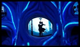 【田螺手机摄影】圣诞节曼哈顿的街景、橱窗