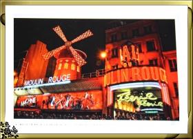 观赏巴黎红磨坊歌舞秀(2016-12-10)
