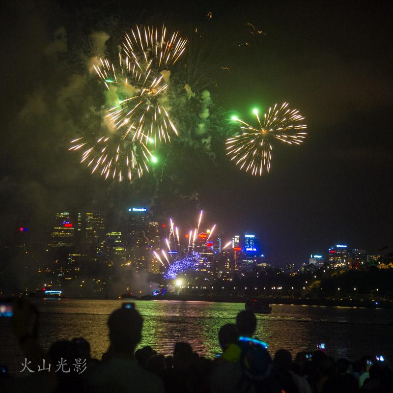 2017悉尼新年焰火秀_图1-3