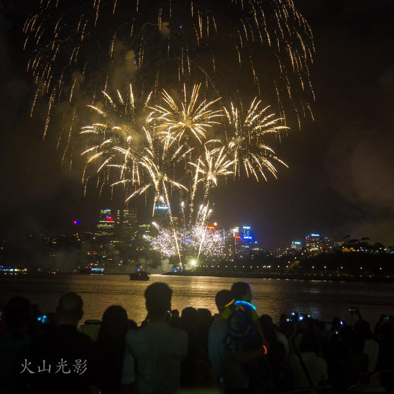 2017悉尼新年焰火秀_图1-4