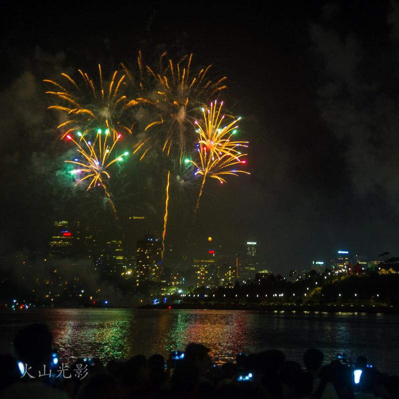 2017悉尼新年焰火秀_图1-8