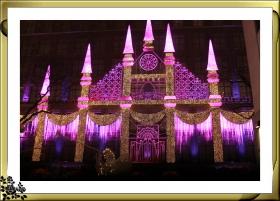 洛克菲勒中心元旦之夜灯火辉煌,热闹非凡