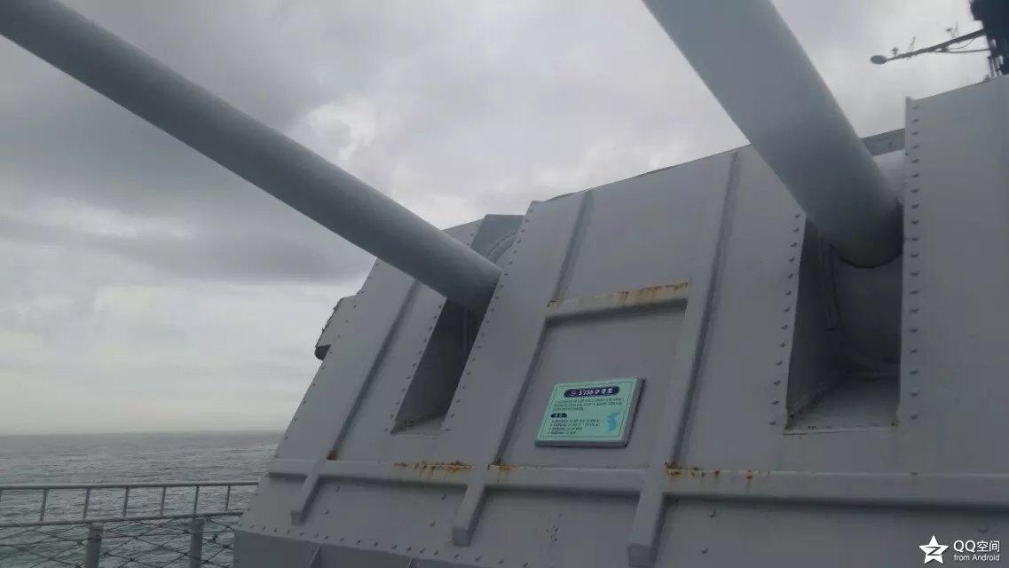 放飞情感《参观韩国退役军舰 》_图1-1