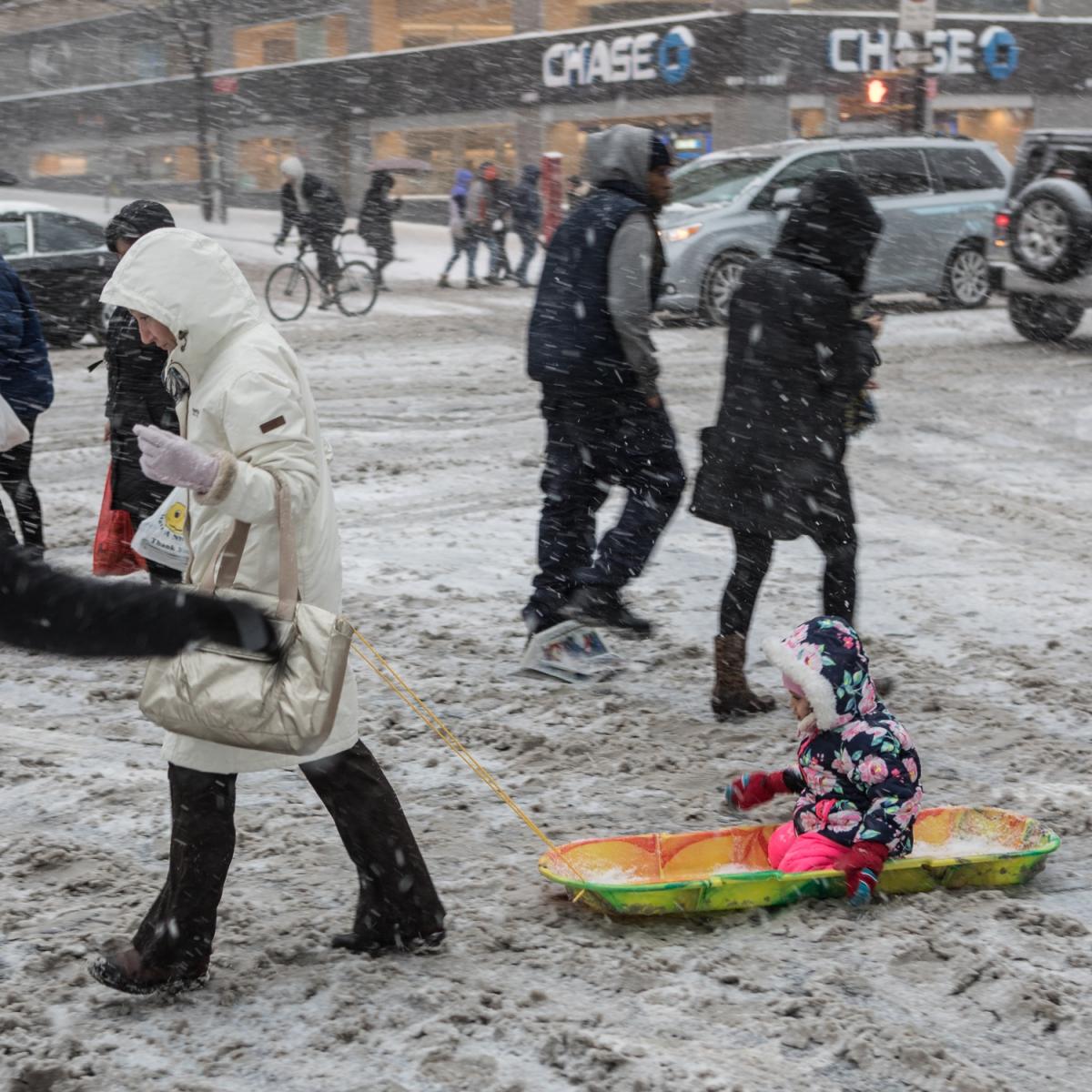 紐約: 風雪法拉盛 190107_图1-1